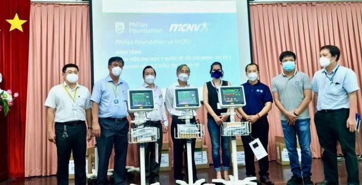 Công ty Philips và MCNV ( Hà Lan) hỗ trợ Việt Nam máy thở theo dõi bệnh nhân - ảnh 2