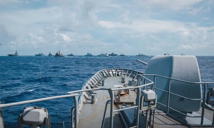 Bộ Ngoại giao Việt Nam thông tin vấn đề liên quan tình hình Biển Đông và ASEAN - ảnh 1