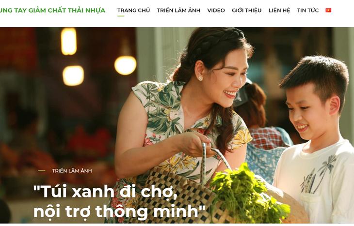 """Ra mắt Trang thông tin điện tử và Chiến dịch truyền thông """"Chung tay giảm chất thải nhựa"""" - ảnh 1"""