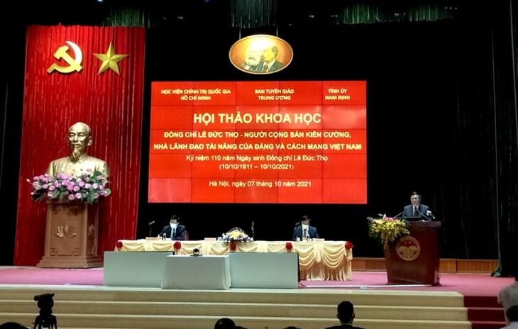 Hội thảo về người cộng sản kiên cường, nhà lãnh đạo tài năng của Đảng và cách mạng Việt Nam: Lê Đức Thọ - ảnh 1