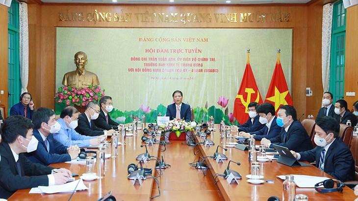 Việt Nam sẵn sàng tạo điều kiện để các doanh nghiệp Hoa Kỳ hoạt động sản xuất, đầu tư tại Việt Nam - ảnh 1