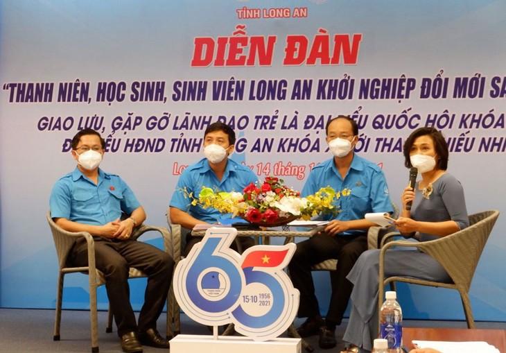 Kỷ niệm 65 năm Ngày truyền thống Hội Liên hiệp Thanh niên  Việt Nam (15/10/1956-15/10/2021). - ảnh 1