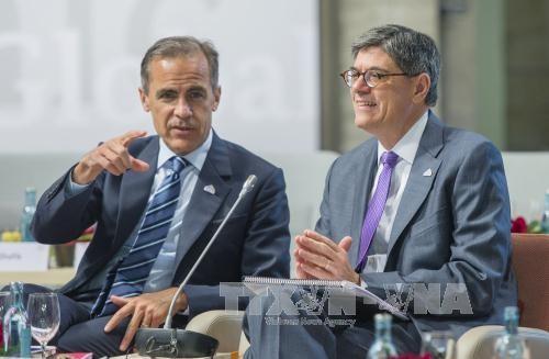 В ФРГ прошёл первый день работы саммита министров финансов G7  - ảnh 1