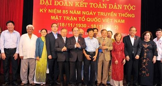 Отечественный фронт Вьетнама и строительство национального единства - ảnh 1