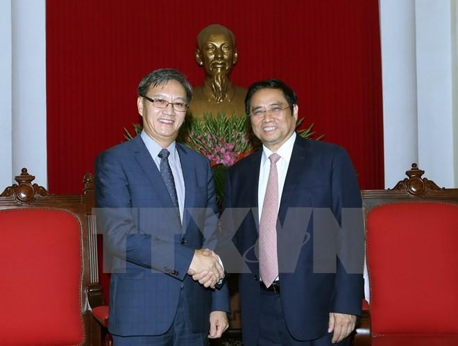 Необходимо поднять вьетнамо-лаосские отношения на новую высоту - ảnh 1