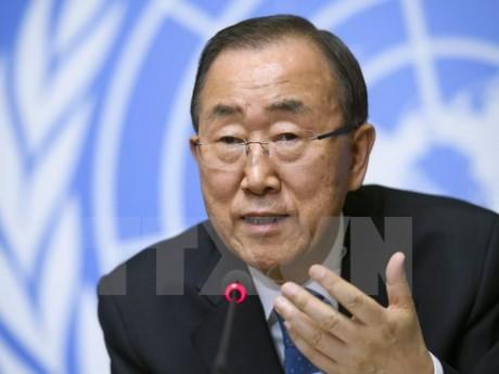Генсек ООН призвал страны принять активное участие в борьбе с изменением климата - ảnh 1