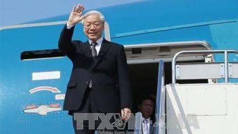 Кубинские СМИ освещают визит генсека ЦК КПВ Нгуен Фу Чонга на Кубу - ảnh 1