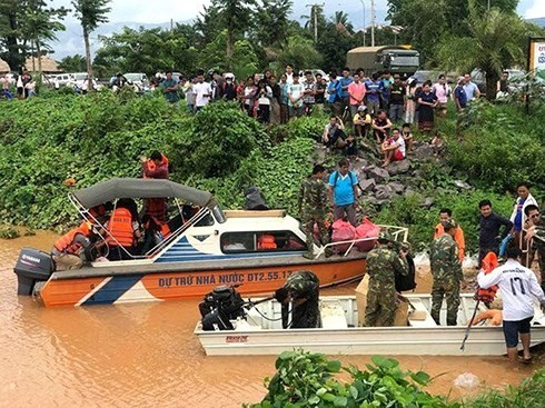 Вьетнам выразил глубокие соболезнования лаосскому народу в связи с прорывом плотины ГЭС - ảnh 1