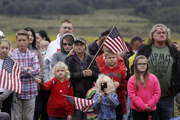 В США почтили память жертв теракта 11 сентября 2001 года - ảnh 1