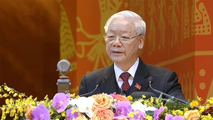 Нгуен Фу Чонг продолжает получать поздравительные телеграммы в связи с переизбранием на пост генсека ЦК КПВ - ảnh 1