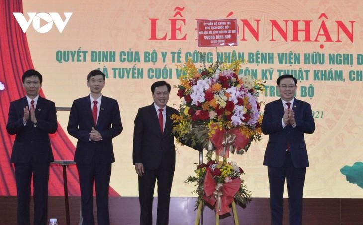 Председатель Нацсобрания Выонг Динь Хюэ посетил с рабочим визитом провинцию Нгеан - ảnh 1