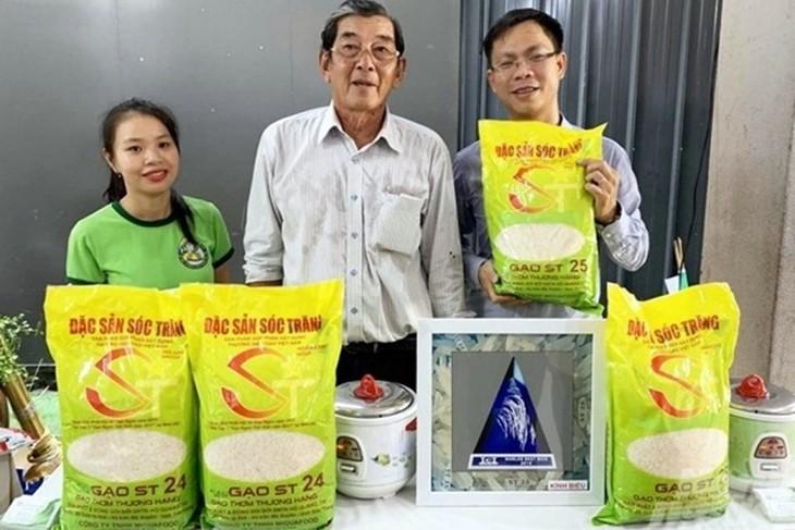 Товарный знак вьетнамского риса ST25 был зарегистрирован на имя другой компании в Австралии - ảnh 1