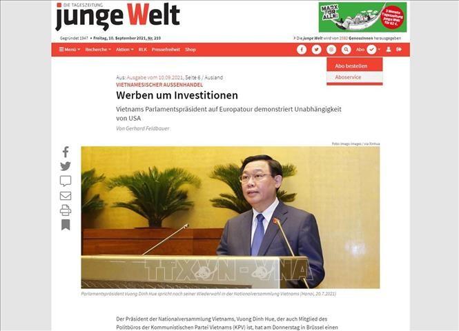 Немецкие СМИ: Визит Выонг Динь Хюэ в Европу демонстрирует внешнеполитический курс Вьетнама на независимость и диверсификацию связей - ảnh 1
