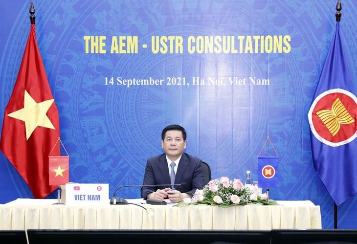На совещании министров экономики стран АСЕАН и стран-партнёров были приняты важные решения  - ảnh 1