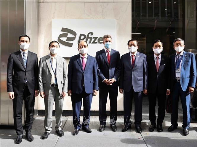 Компания Pfizer обязалась поставить Вьетнаму все  31 млн. доз вакцин в этом году - ảnh 1