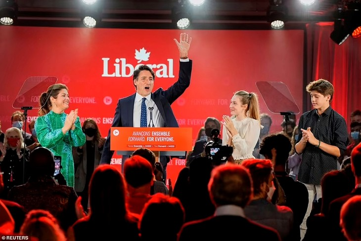 Поздравительная телеграмма  в адрес премьер-министра Канады Джастина Трюдо  - ảnh 1