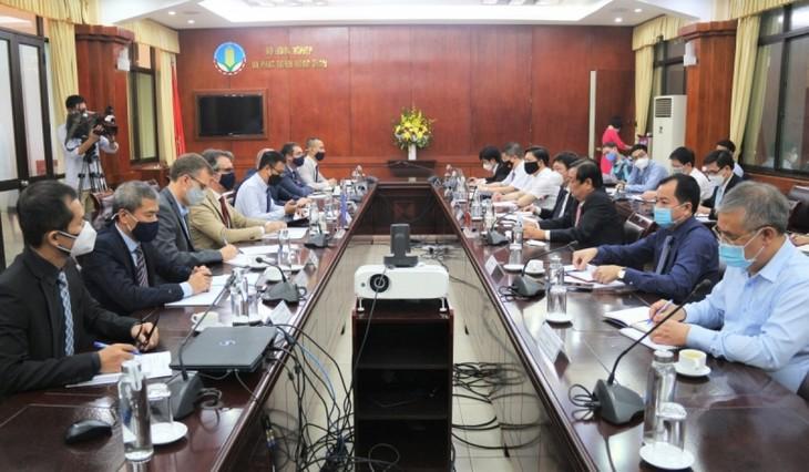 Вьетнам и ЕС содействуют торговле сельскохозяйственной, лесной и рыбной продукцией  - ảnh 1