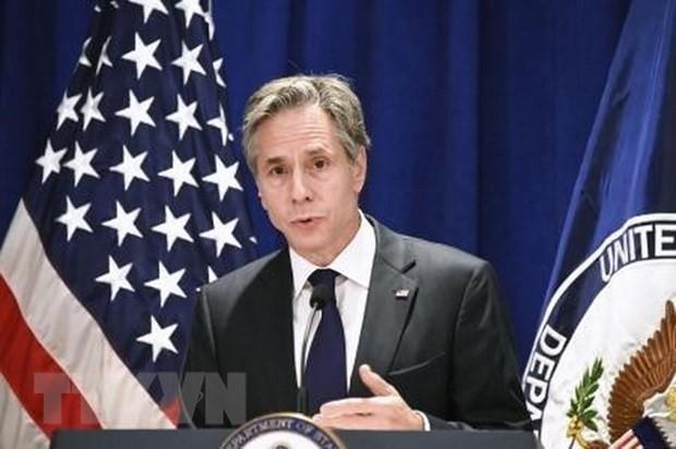 Госсекретарь США планирует совершить визит во Францию для снижения напряженности в двусторонних отношений - ảnh 1
