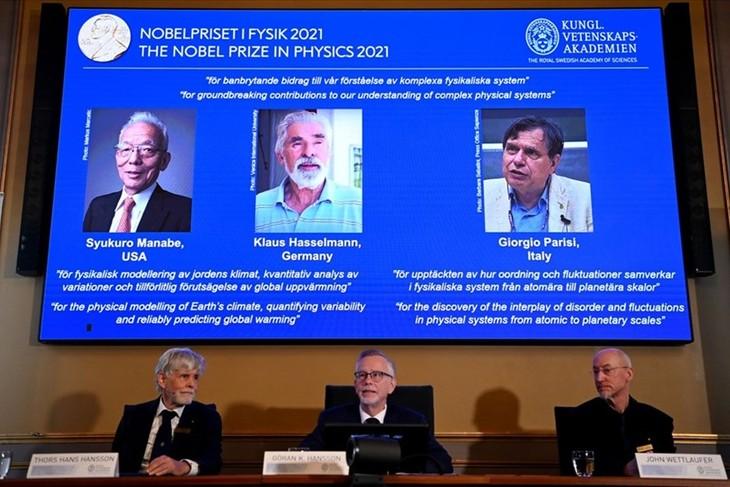 Нобелевская премия по физике 2021 присуждена ученым Сюкуро Манабе, Клаусу Хассельману и Джорджио Паризи - ảnh 1