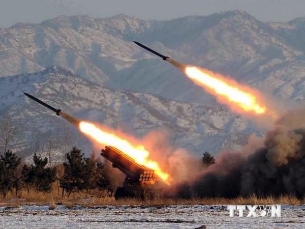 朝鲜试射两枚短程火箭 - ảnh 1