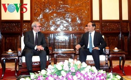 陈大光:法新社在越南开展合作的机会很多 - ảnh 1