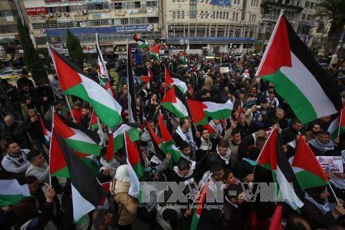 以色列军方与巴勒斯坦示威者发生冲突 - ảnh 1
