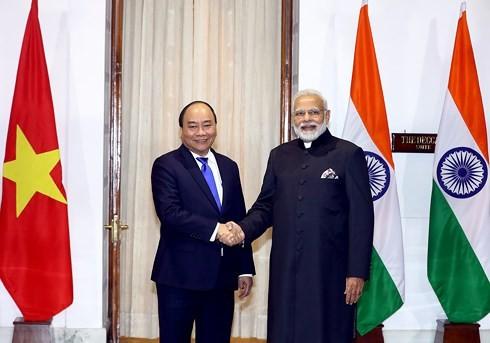 越南与印度在多边框架内紧密配合和互相支持 - ảnh 1