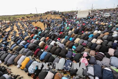 巴勒斯坦:哈马斯呼吁在加沙地带东部举行示威 - ảnh 1