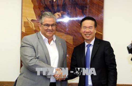 越南共产党高级代表团对希腊进行工作访问 - ảnh 1