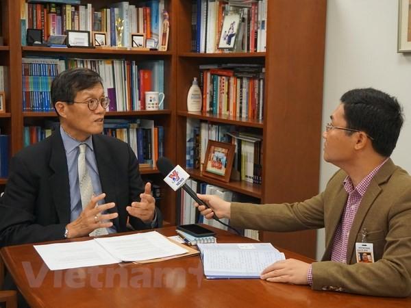 国际货币基金组织高度评价越南经济发展前景 - ảnh 1