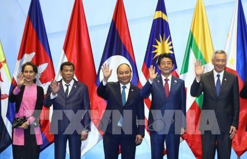 阮春福出席第33届东盟峰会相关活动 - ảnh 1