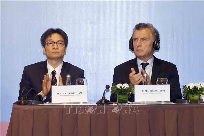 越南与阿根廷企业促进合作 - ảnh 1