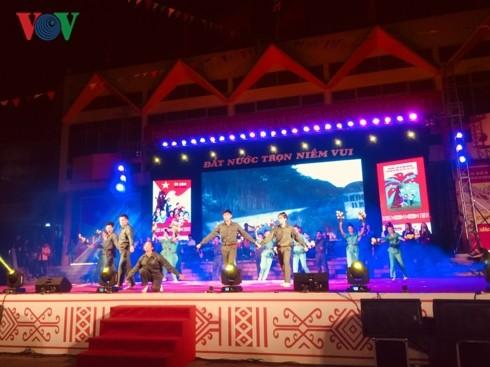 庆祝国家统一的艺术表演活动纷纷举行 - ảnh 2