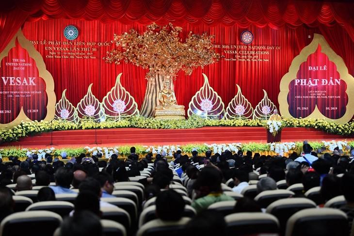 越南佛教为建设和平与发展的世界作出努力 - ảnh 1