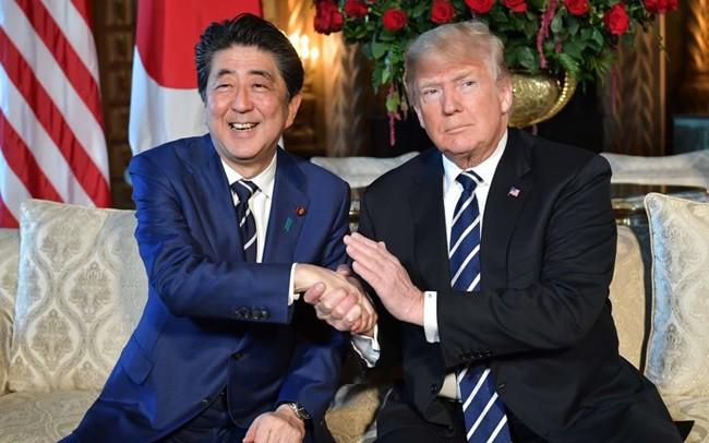 日本令和时代的第一次日美首脑会谈举行 - ảnh 1