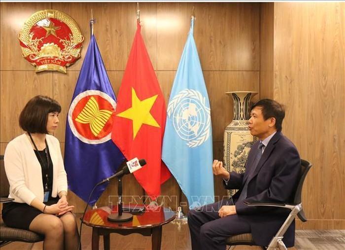 国际友人支持越南竞选联合国安理会非常任理事国 - ảnh 1