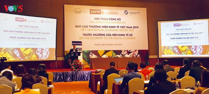 越南经济发展存在两种假设前景 - ảnh 1