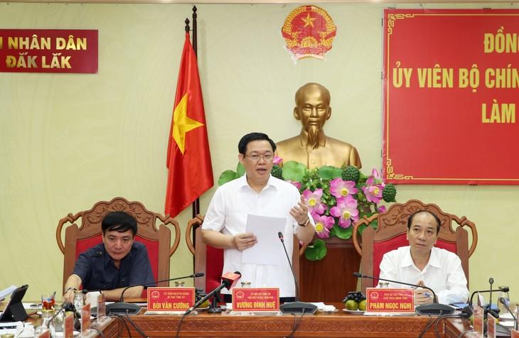 越南政府副总理王庭惠为多乐省发展指明方向 - ảnh 1
