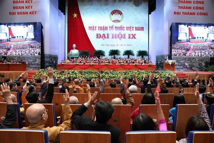 越南祖国阵线第九次全国代表大会讨论环保问题 - ảnh 1