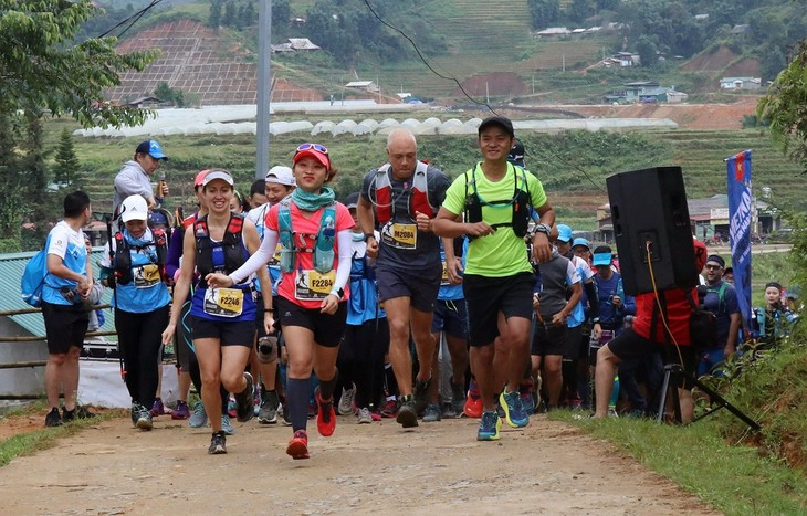 越南规模最大的山地马拉松比赛举行 - ảnh 1
