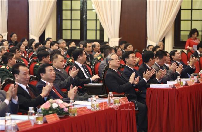 """""""越南共产党:智慧、本领、革新,面向独立自由及社会主义""""研讨会举行 - ảnh 1"""
