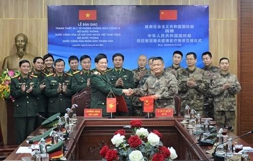 越南继续支援中国抗击疫情 - ảnh 1