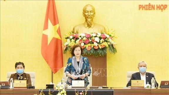 越南国会常务委员会第43次会议闭幕 - ảnh 1