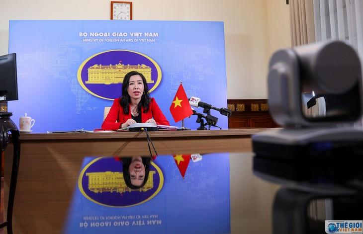 越南对中方在越南长沙和黄沙两座群岛进行的活动表示反对 - ảnh 1