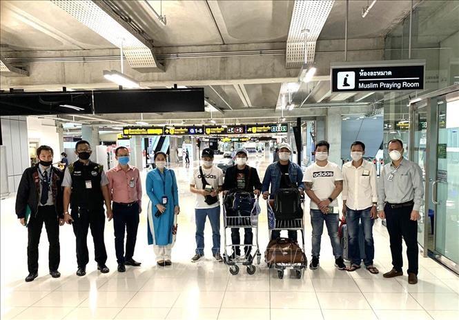 把7名越南公民从泰国送回国 - ảnh 1
