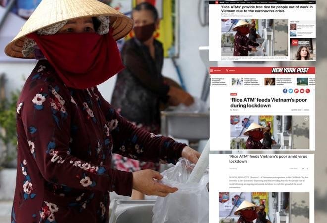 """外国媒体对越南""""自动取米机""""印象深刻 - ảnh 1"""