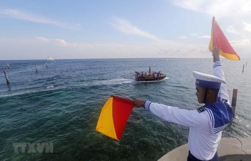 加强实施《联合国海洋法公约》,维护东海法律秩序 - ảnh 1