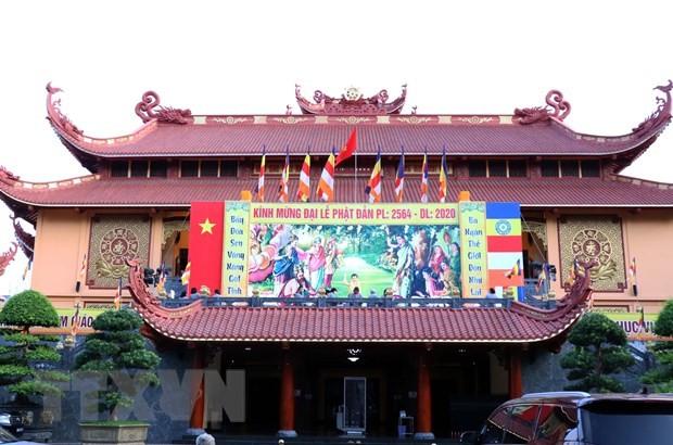 越南佛教教会呼吁僧侣佛子团结抗击疫情 - ảnh 1
