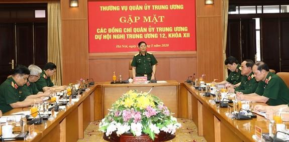 军队力量为越共十二届十二中全会的成功做出贡献 - ảnh 1
