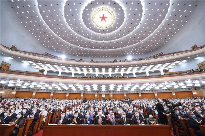 中国全国政协十三届三次会议正式开幕 - ảnh 1